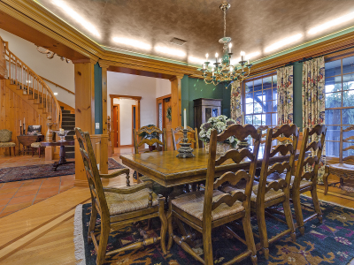 Formal Dining Room at Wonser Woods Estate